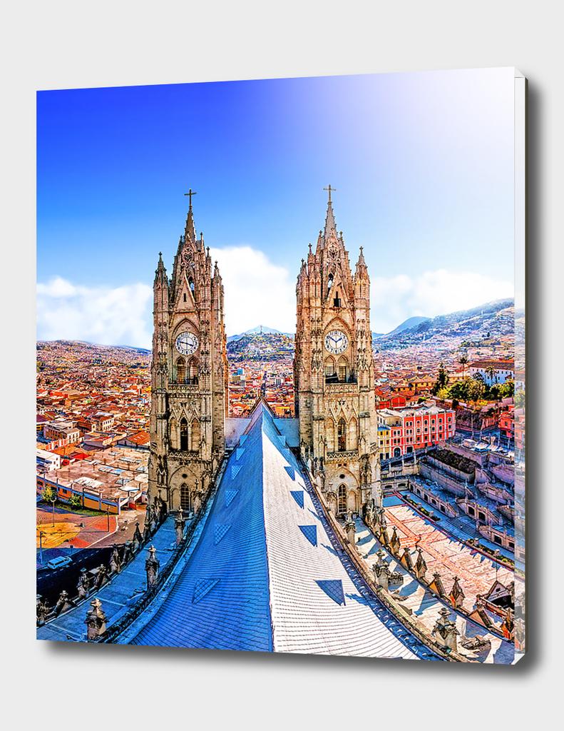 La Basilica QUITO - ECUADOR