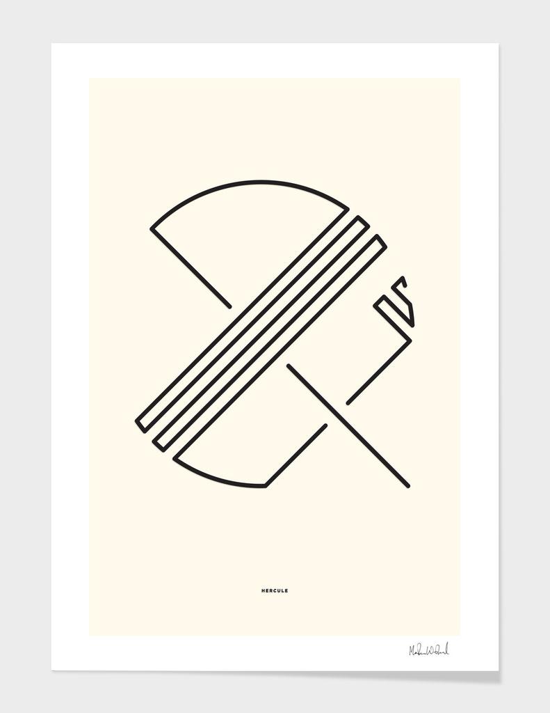 Hercule - Ampersand - Typography