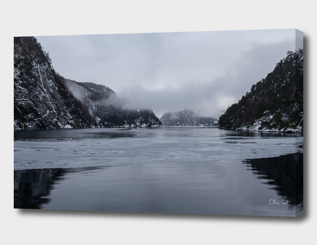 Frozen Norwegian Fjord