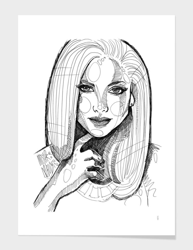 Sketch portrait