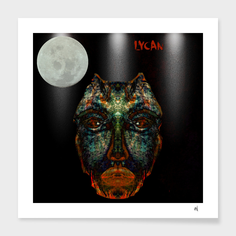 Portrait of a Real Werewolf, Lycan