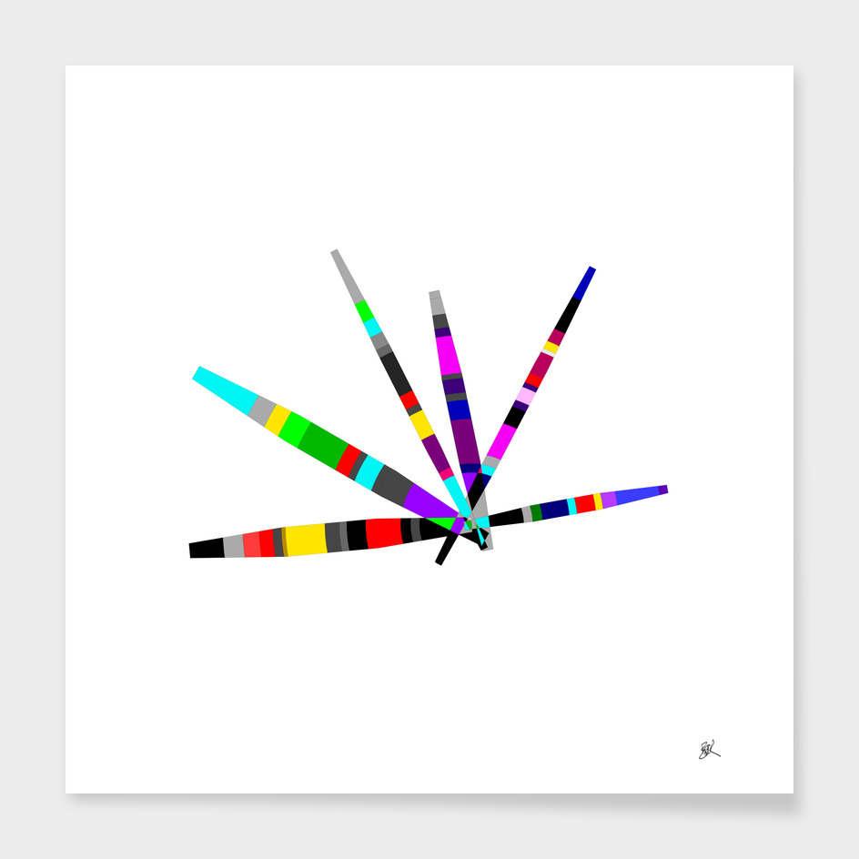 COLORFUL BARS-4-white background