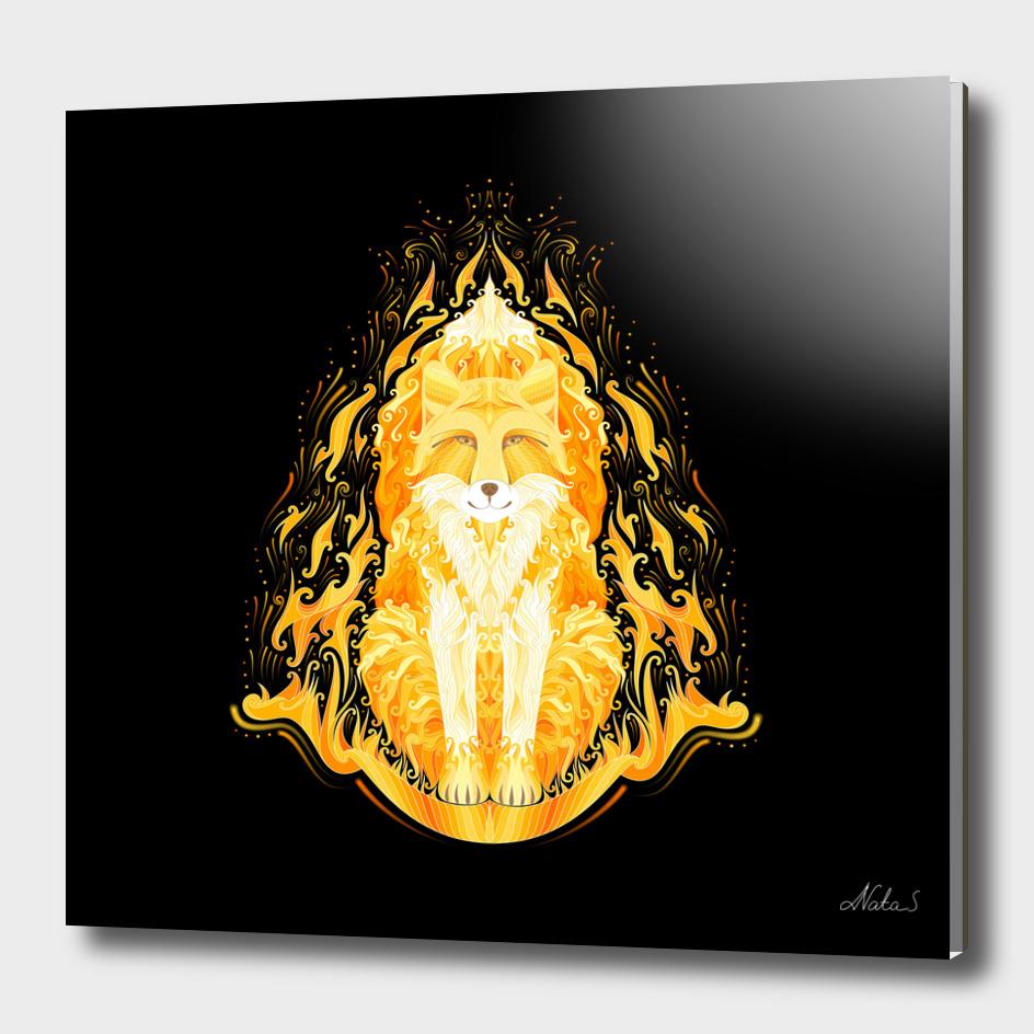 Spirit of fire. Fox
