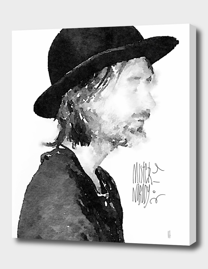 Thom Yorke watercolor portrait by MrN