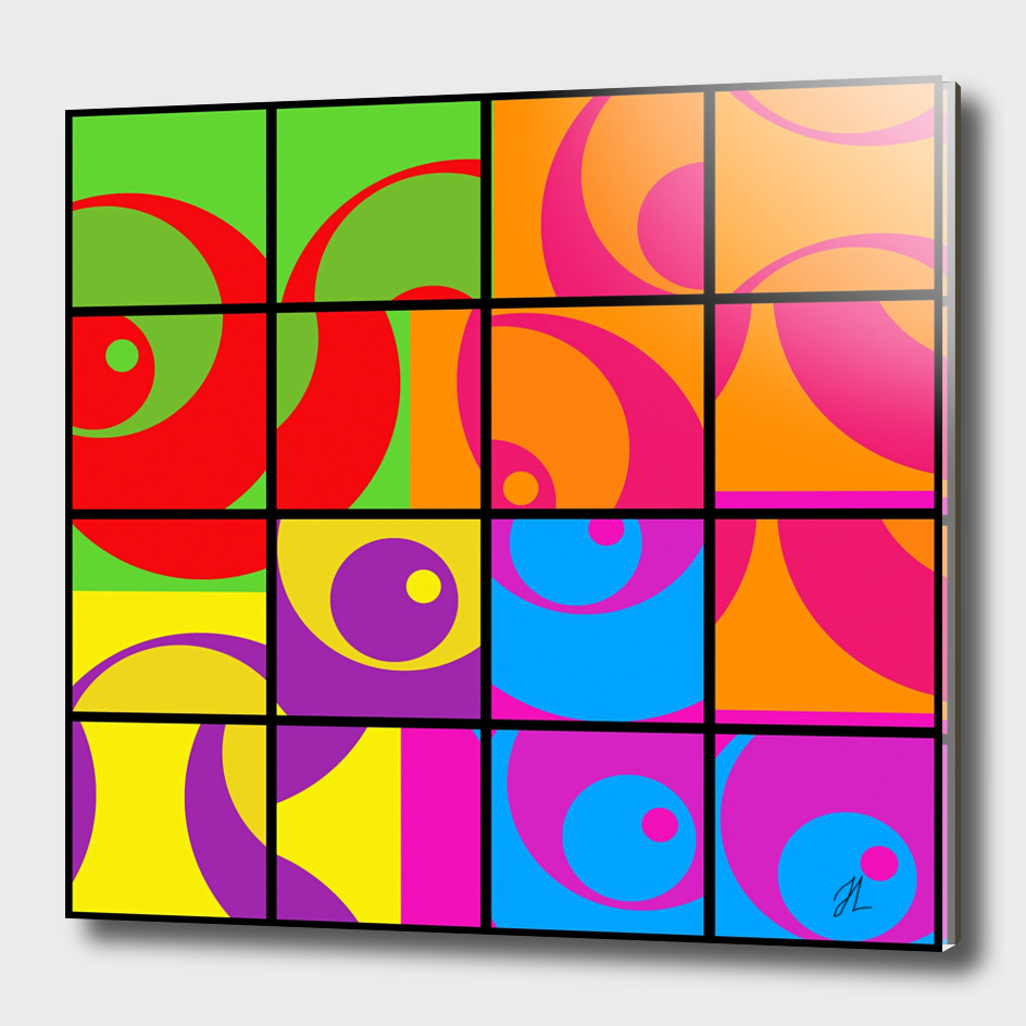 colourful abstract design