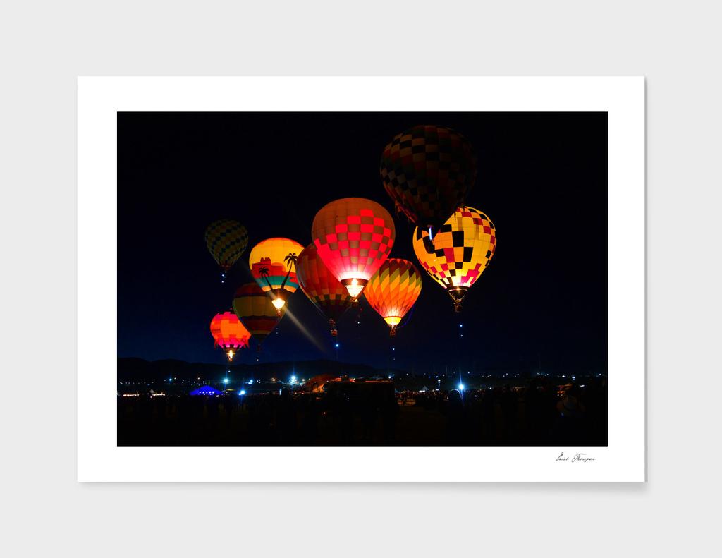 Albuquerque International Balloon Fiesta work A