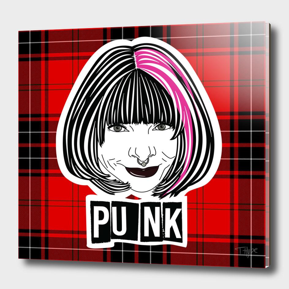 Punk Anna plaid