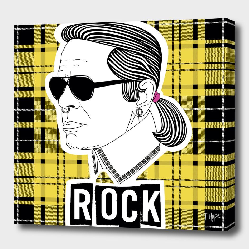 Karl Rocks plaid