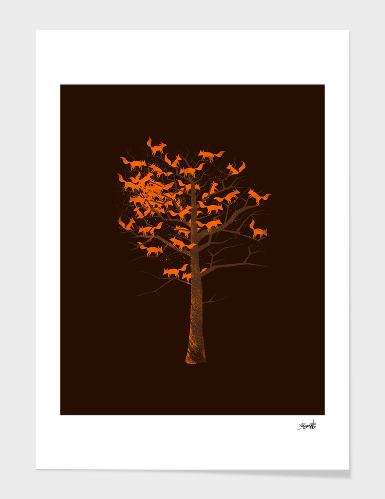 Blazing Fox Tree
