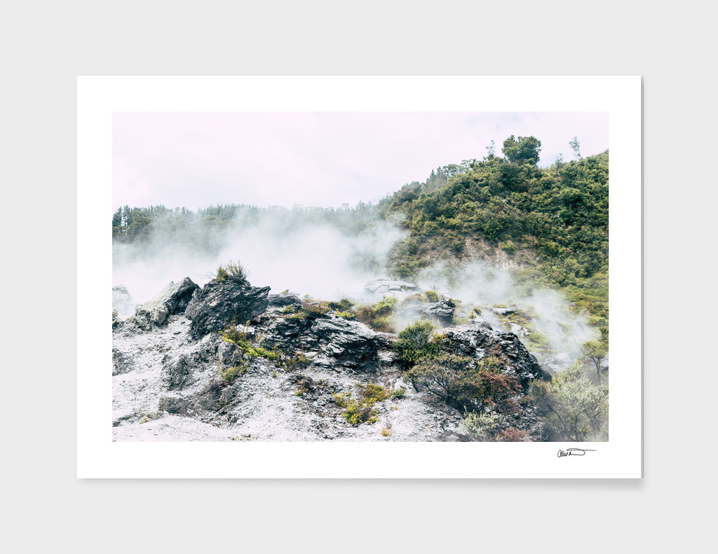Steaming Earth