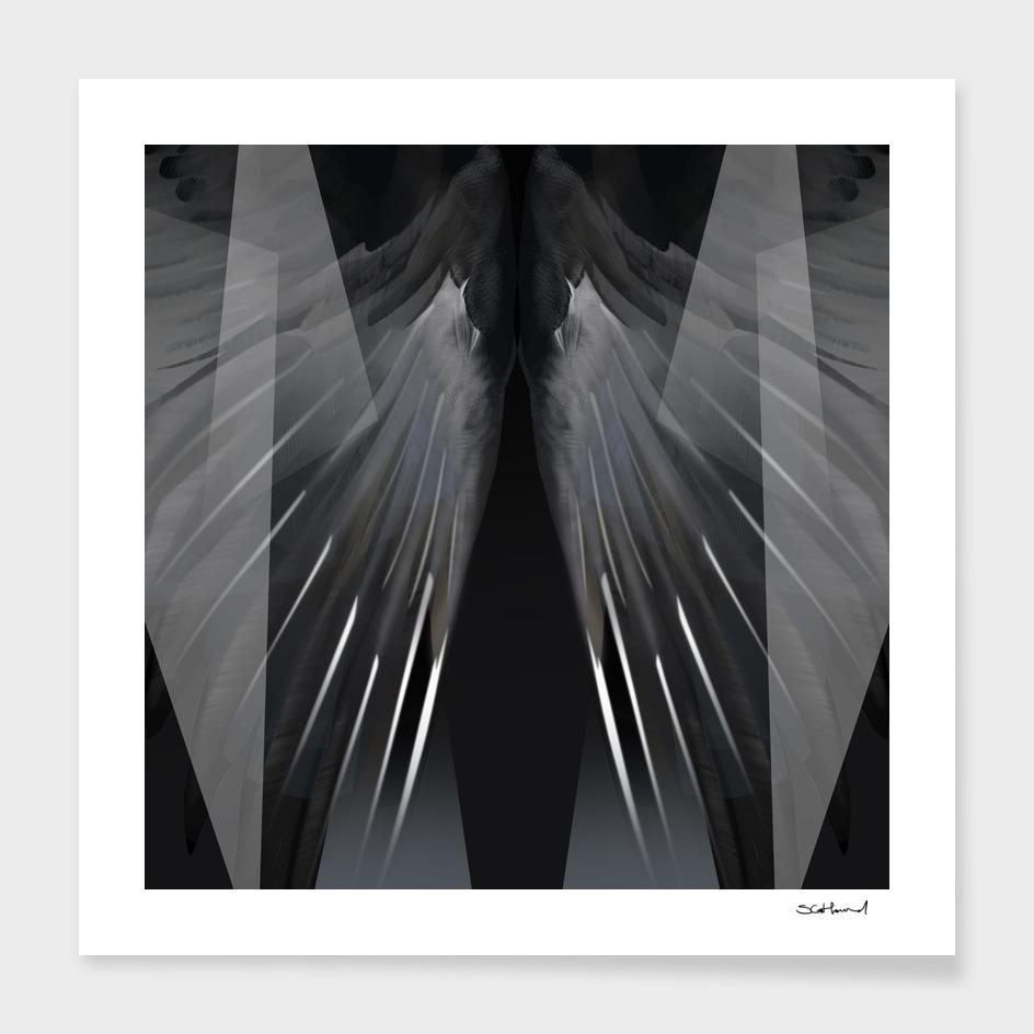 GEOMETRIC BIRD WINGS