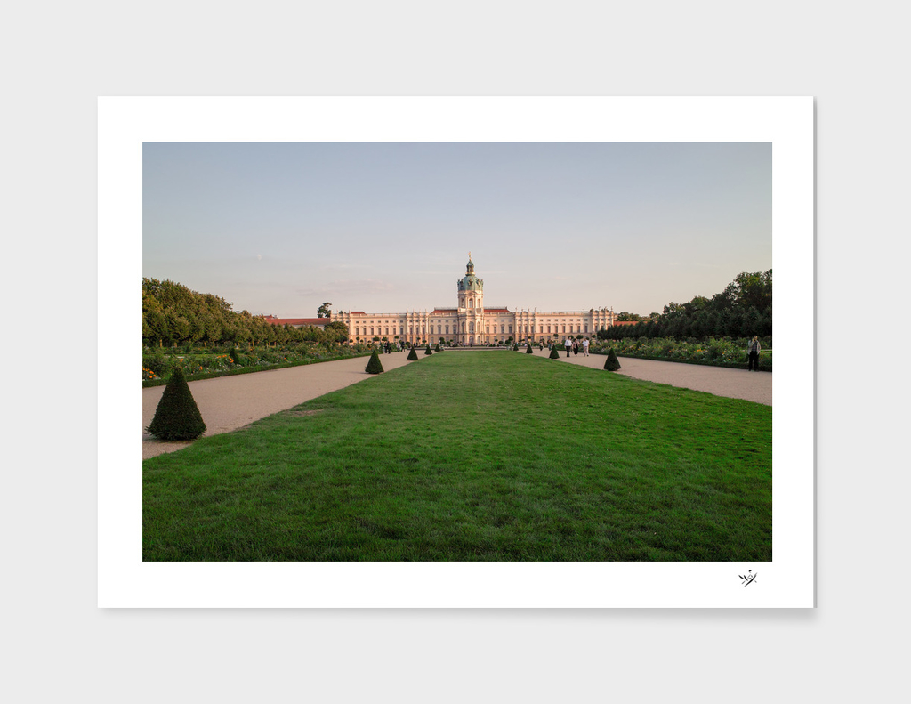 Castle Charlottenburg in Berlin/Germany