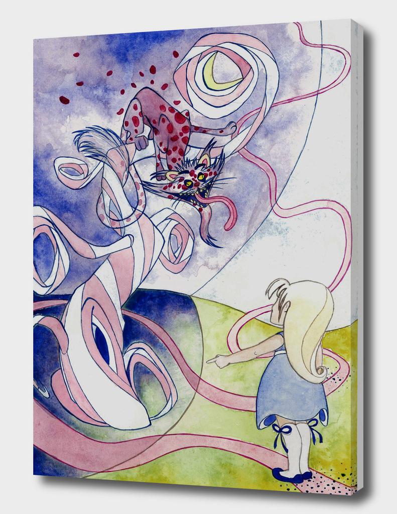 Psycho Alice in Wonderland