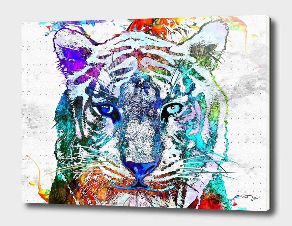 White Tiger Grunge