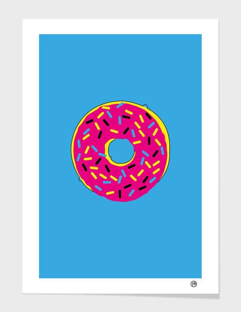 CMYK Donut