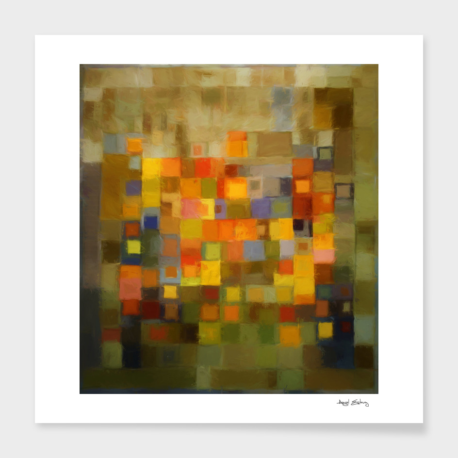 Abstract composition 358