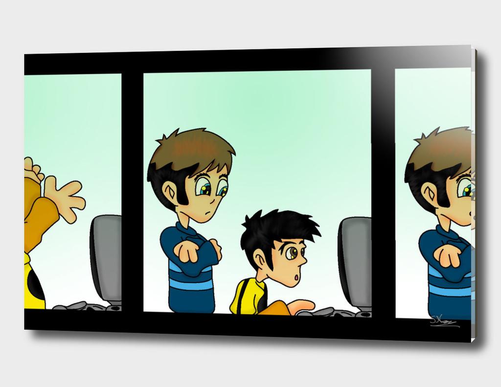 PA Comic Strip