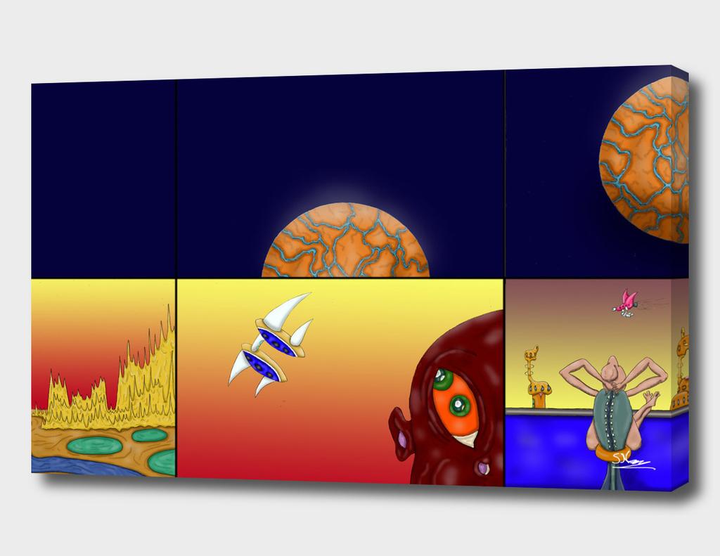 Alien Storyboard