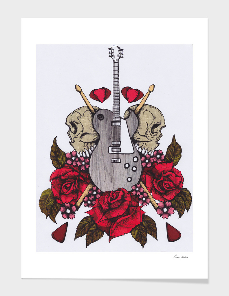 Guitars, Rock and Skulls