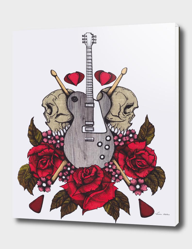 Guitars, Rock and Skulls