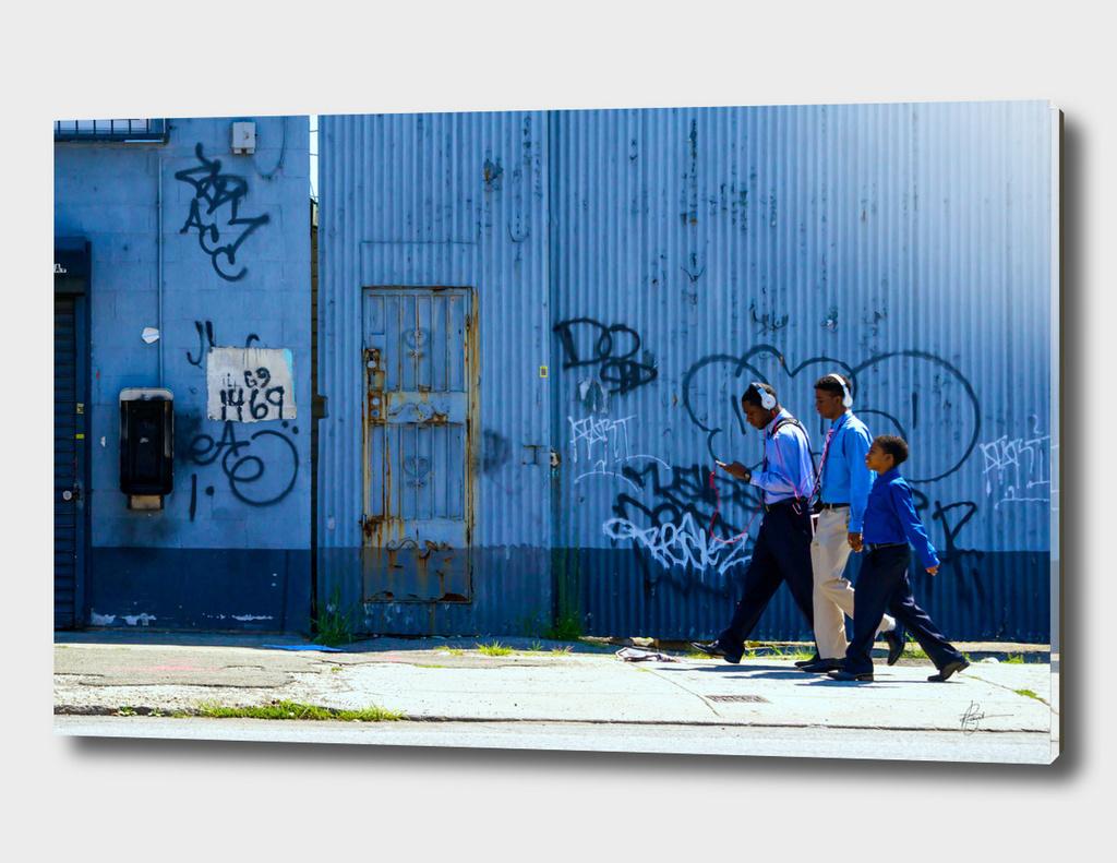 Boys in blue