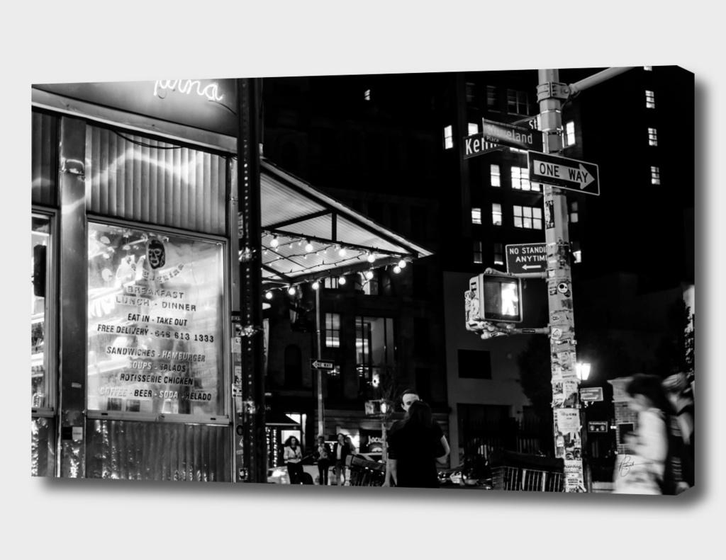 NY Street Corner
