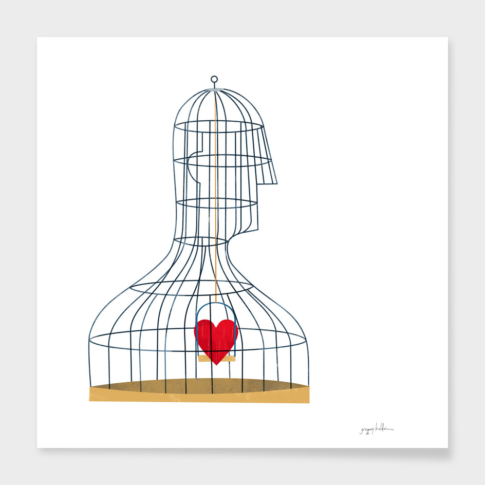 birdcage man