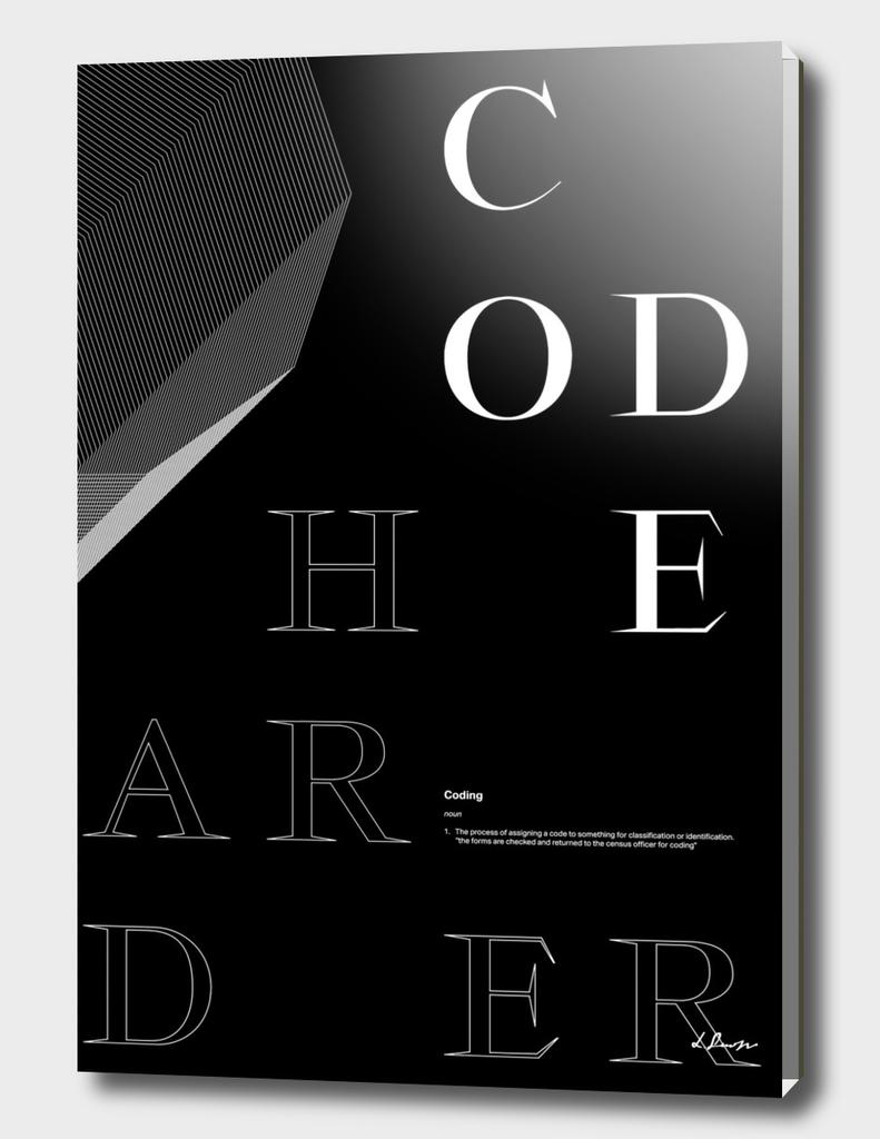 Code harder.