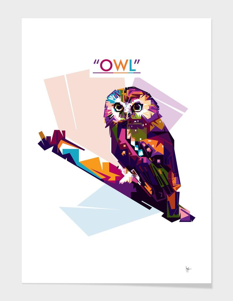 Owl Wpap Art