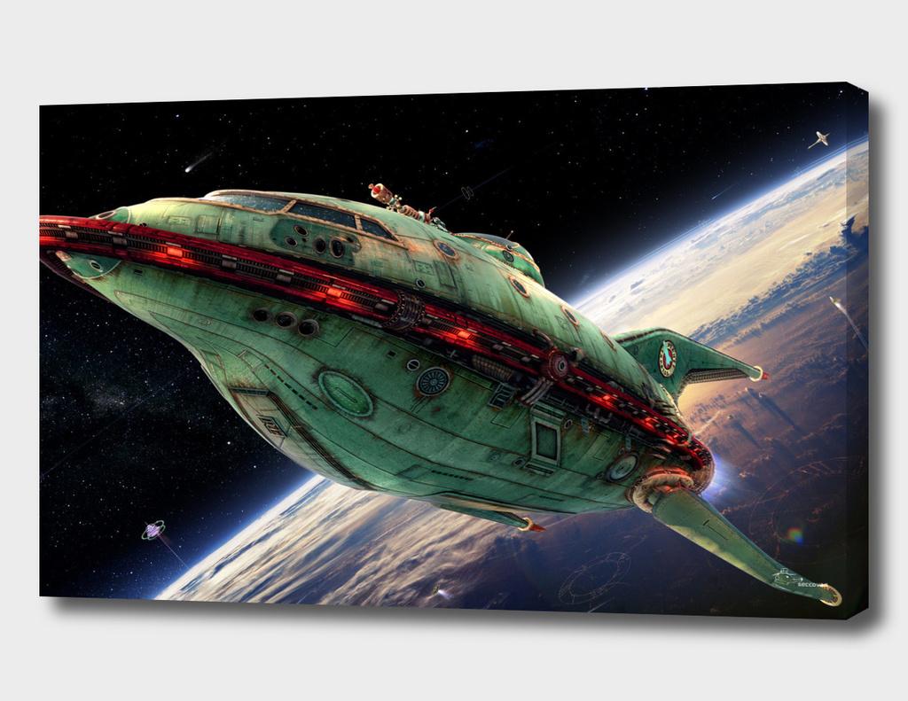 Futurama3d Shuttle 2