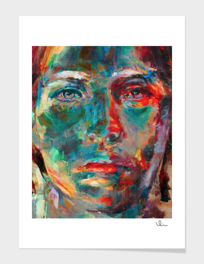 Face in Saturated Color's 2