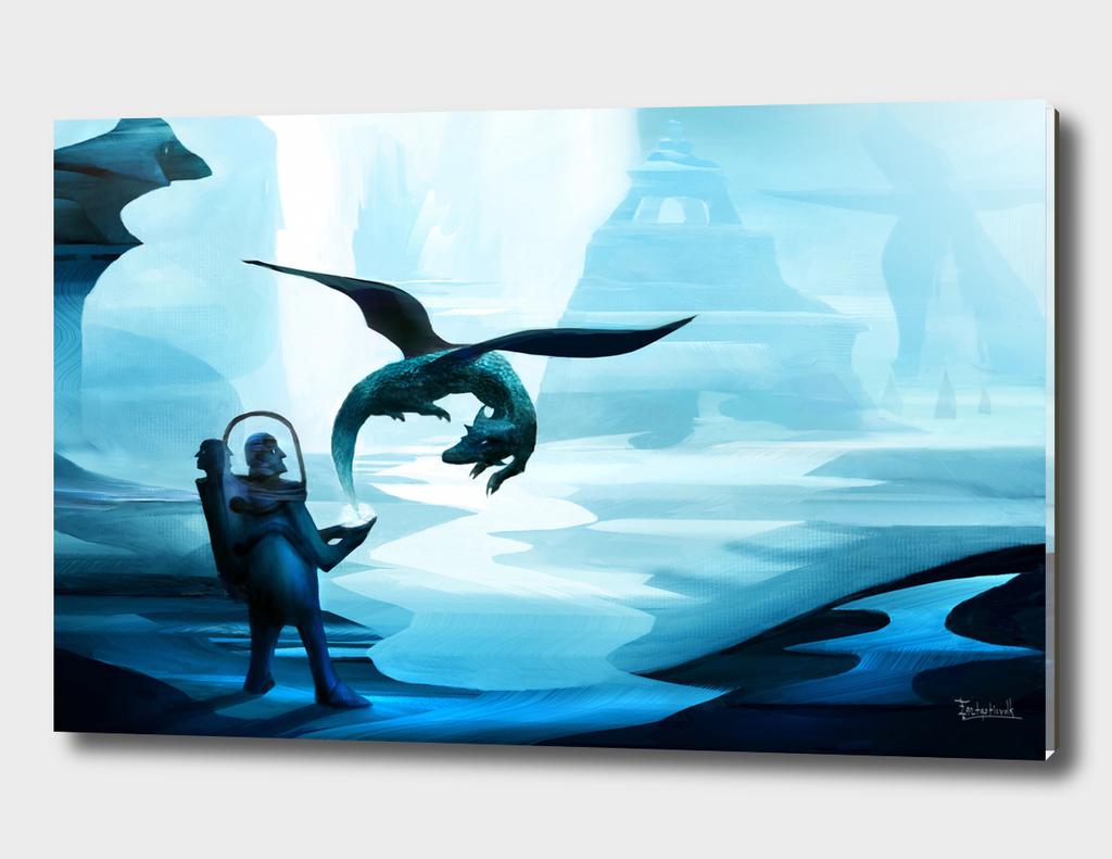 ice dark world