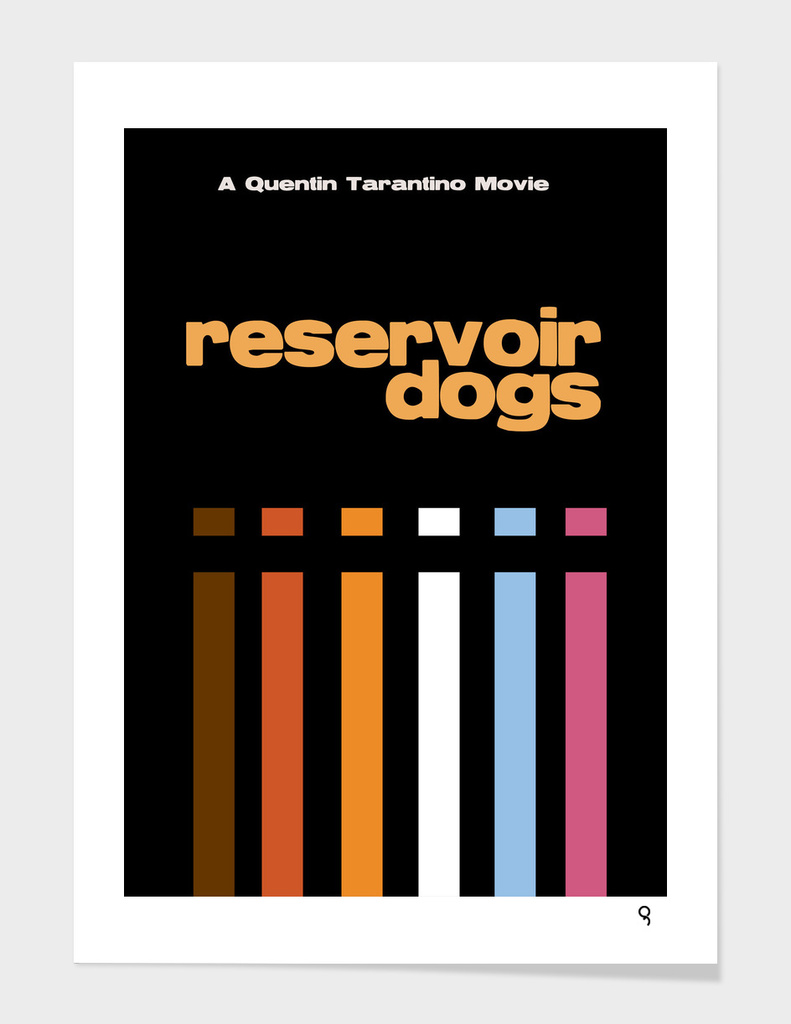 Reservoir Dogs Minimalist Poster