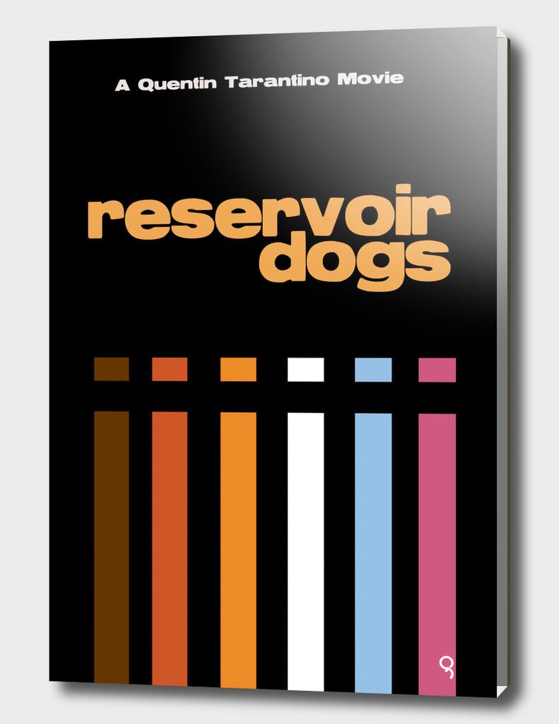 Reservoir Dogs Minimalist Poster