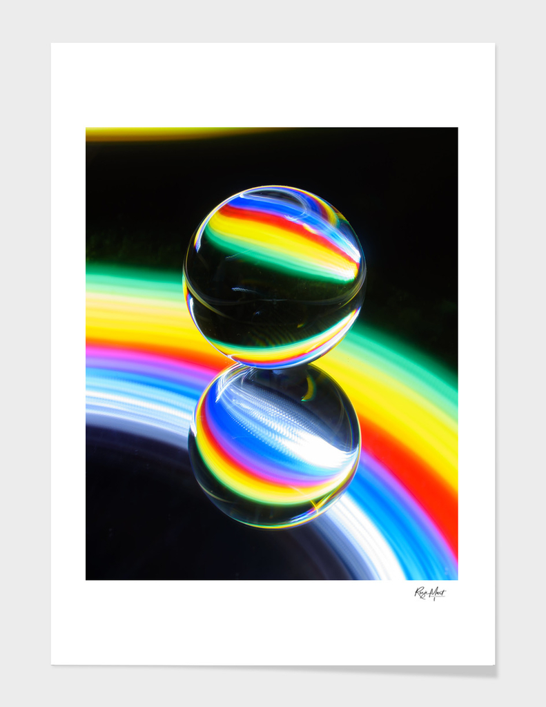 Double crystal ball
