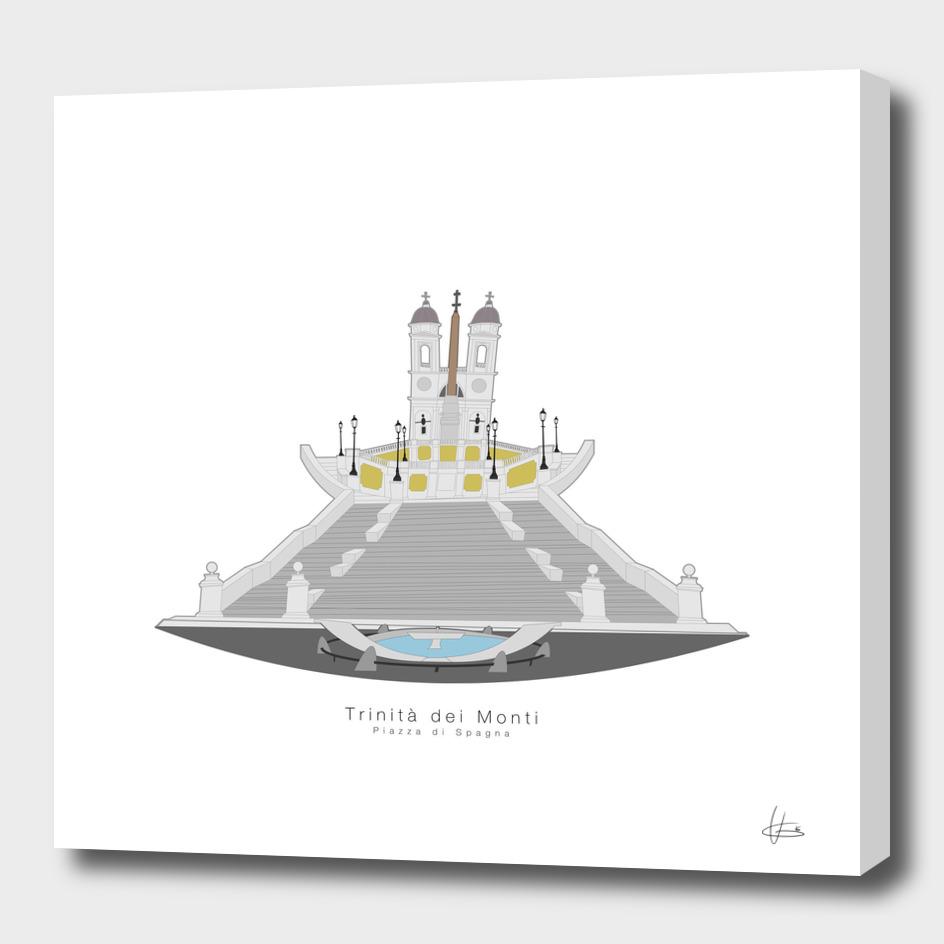 Trinità dei Monti (Piazza di Spagna)