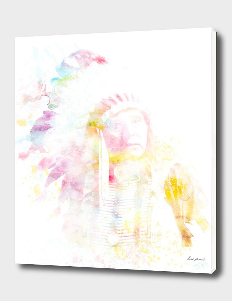 Native American Watercolor