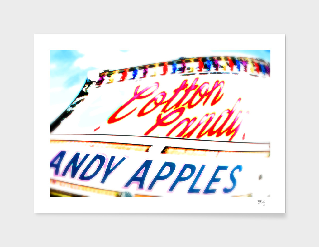 Cotton Candy & Candy Apples