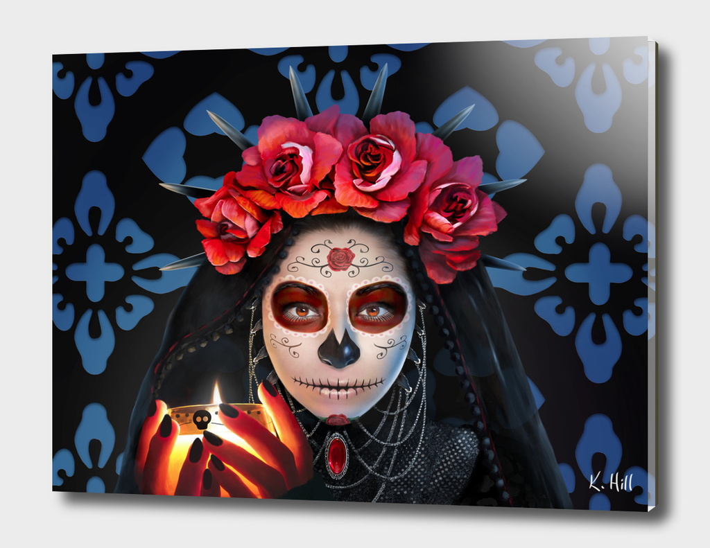 Dia de los Muertos (Day of the Dead) - Rose