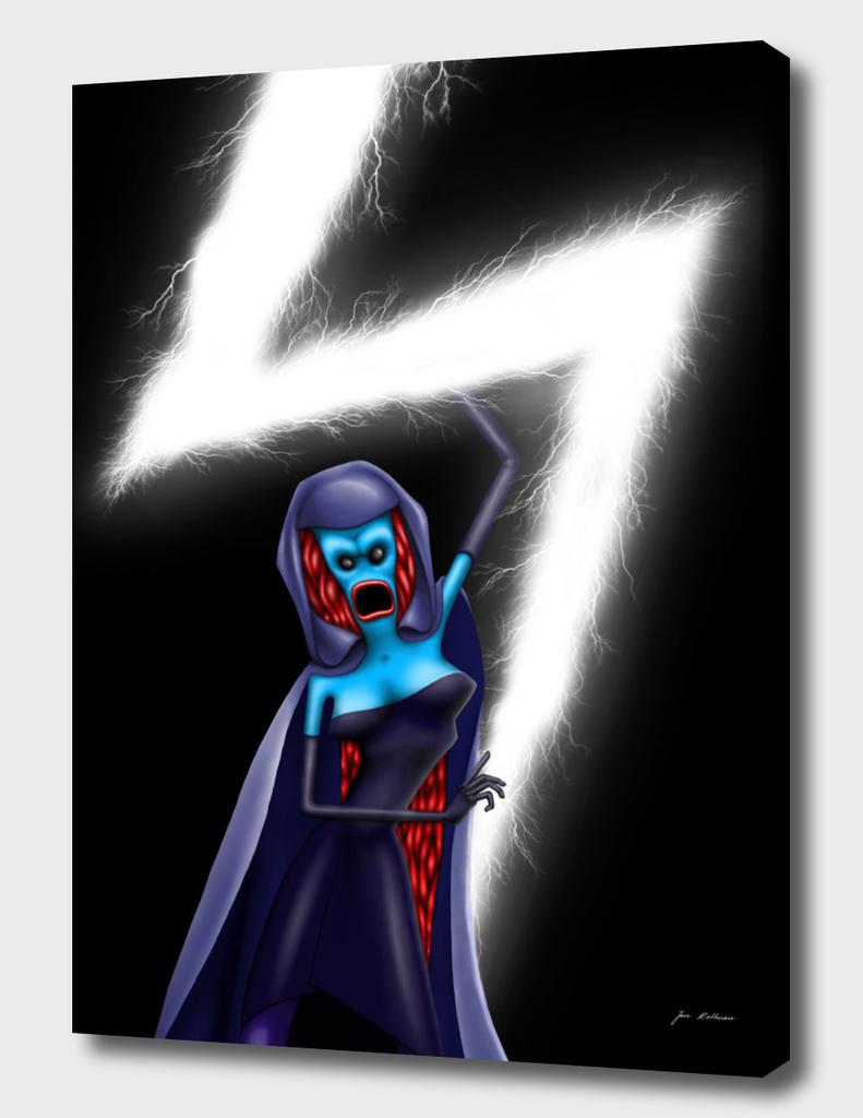 Blue Lady Flash Master