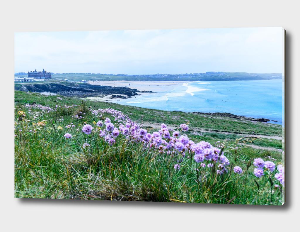 Fistral Beach Newquay Cornwall United Kingdom