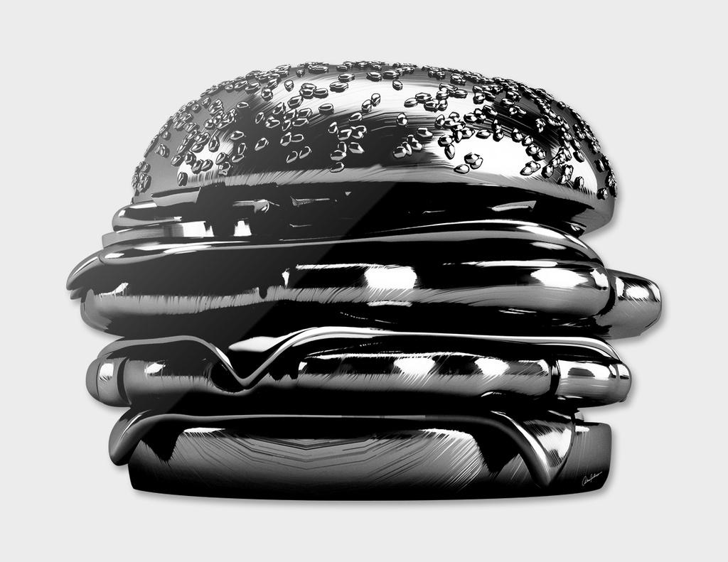 Piano Black Burger