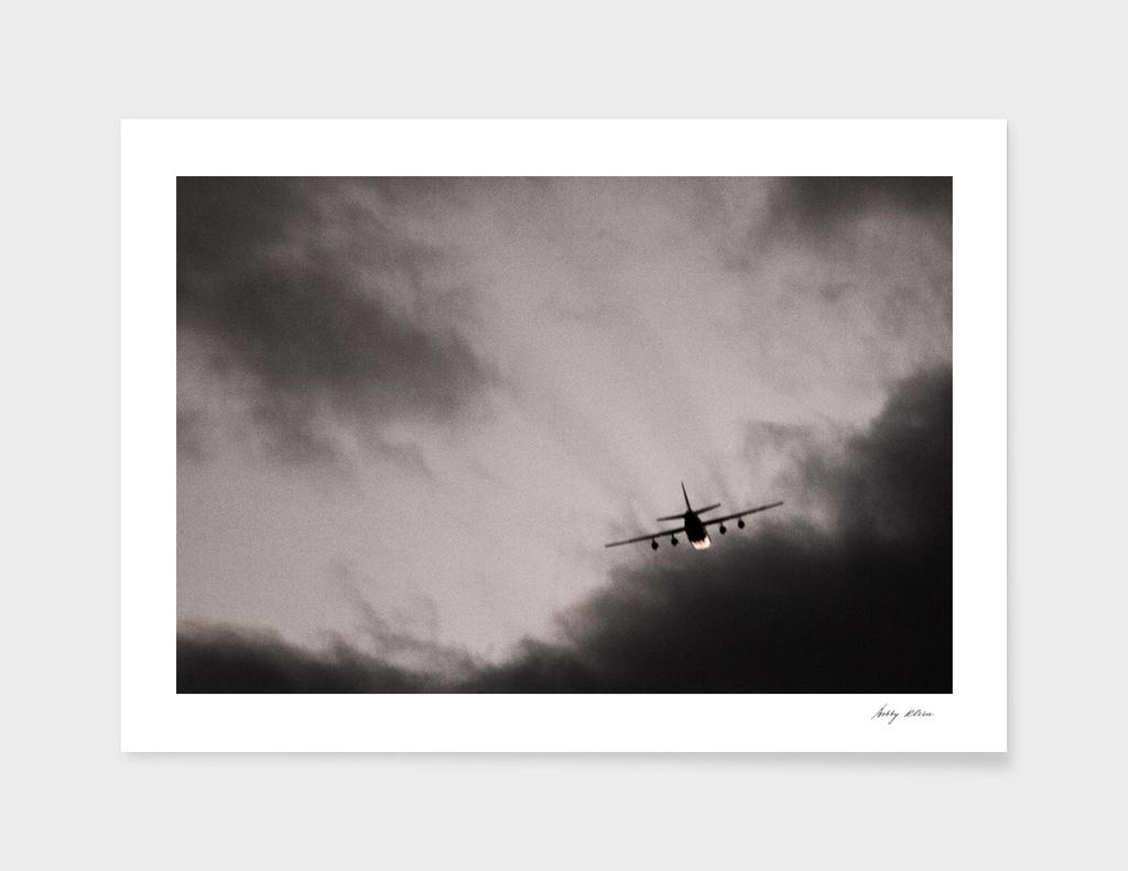 Plane over Harrisburg