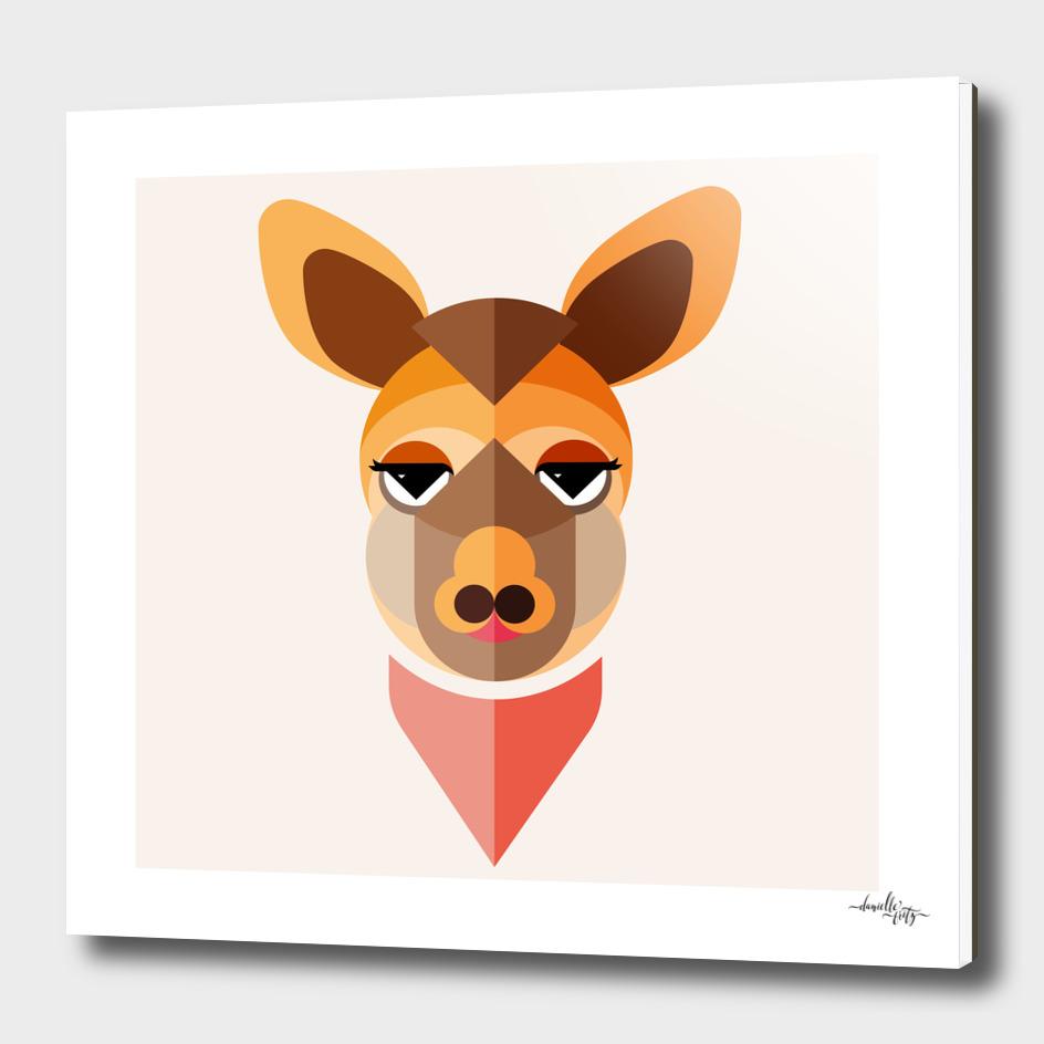Kangaroo Illustration