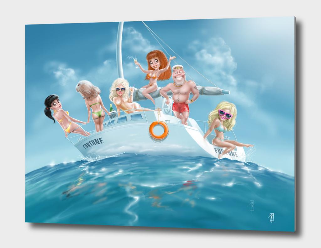 life at sea is good!