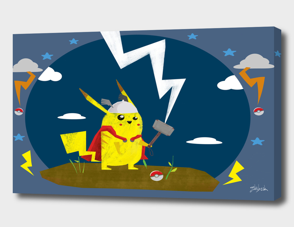 God of Thunder Pikachu