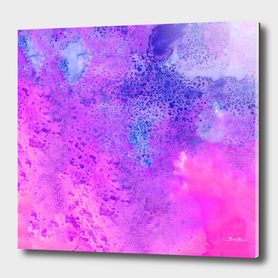 Pink galaxy