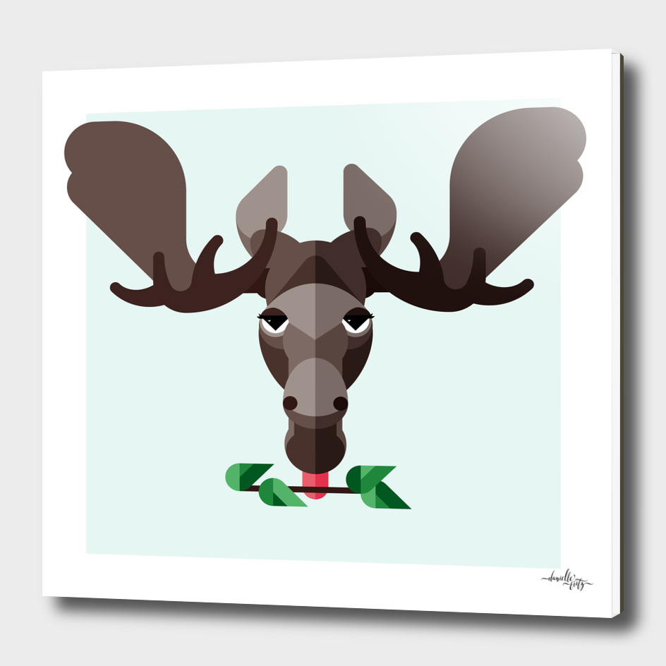 Moose Illustration