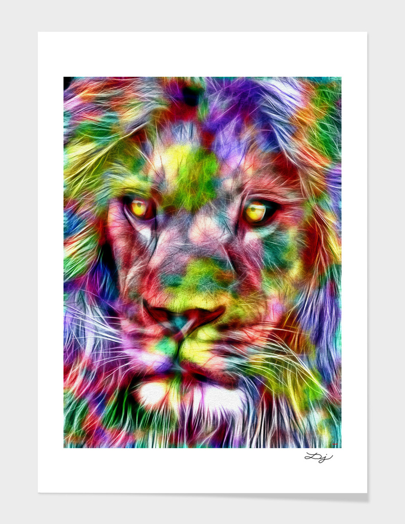 Lion in Color