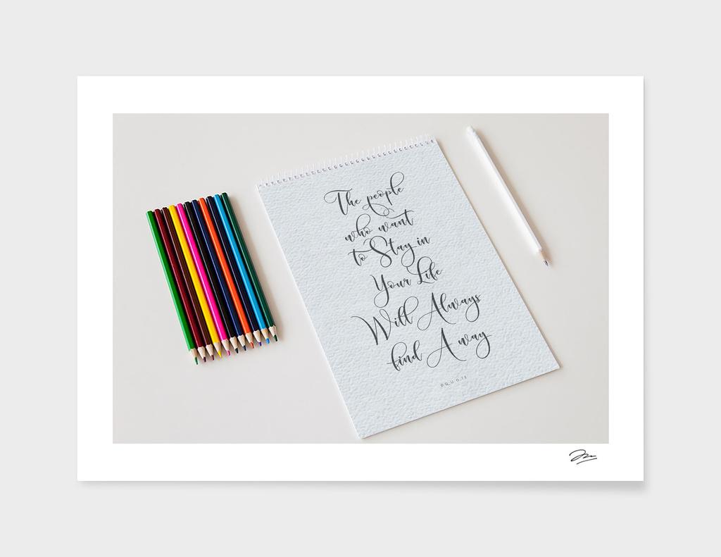 Typograph Quote